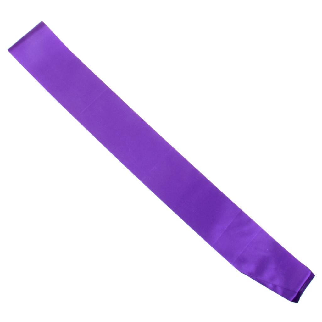 Blank Plain Hen Party Birthday Baby Shower Retirement Sash Purple