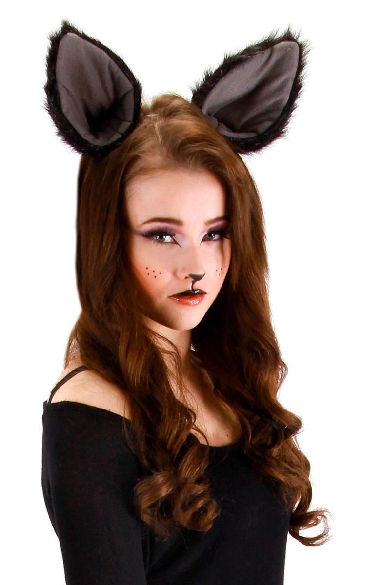 Women's Sexy Lace Cat Bunny Ears Hairband Headband Costume Fancy Dress