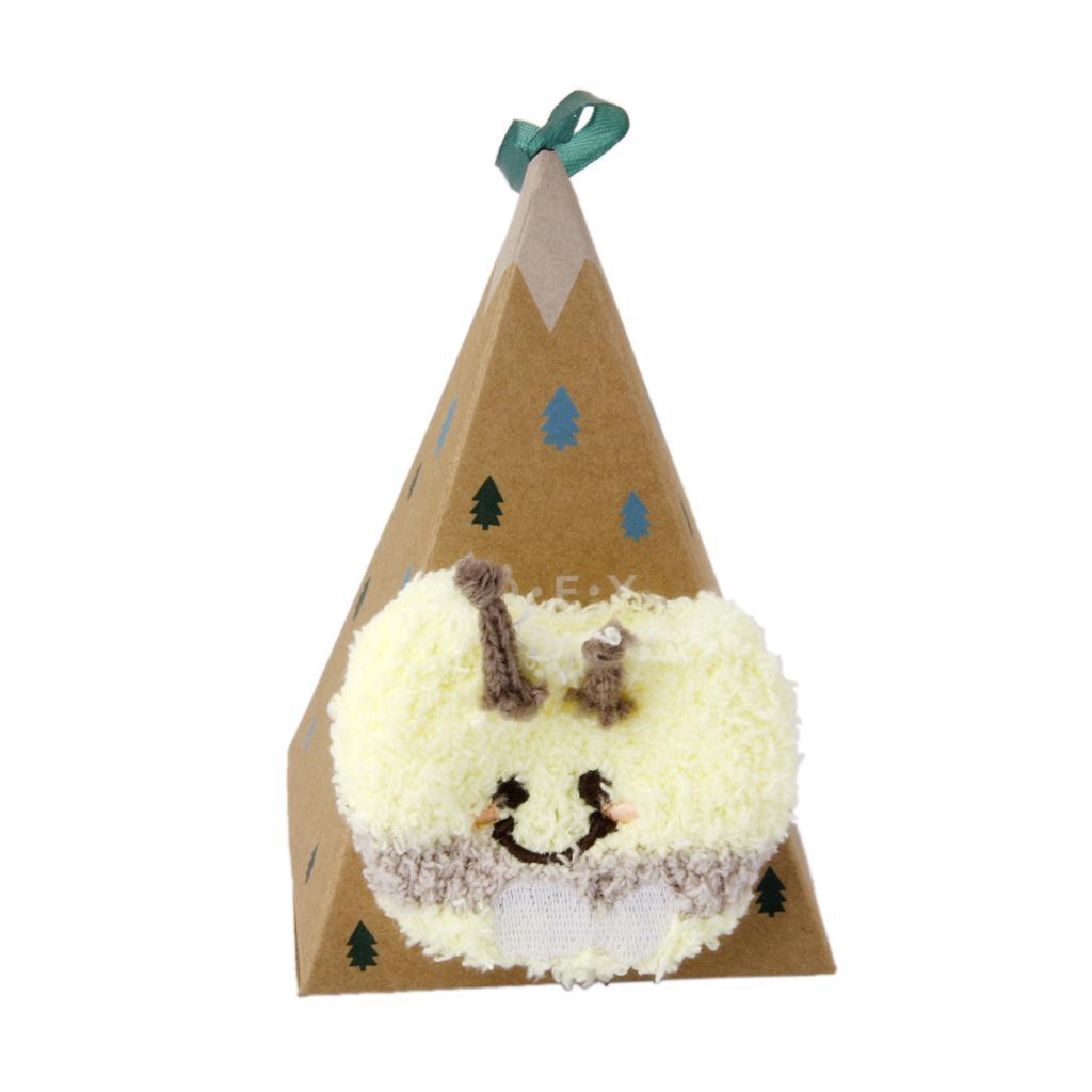 1~4Y Toddler Kids Socks Gift Box Baby Cute Coral Velvet Winter Warm Socks