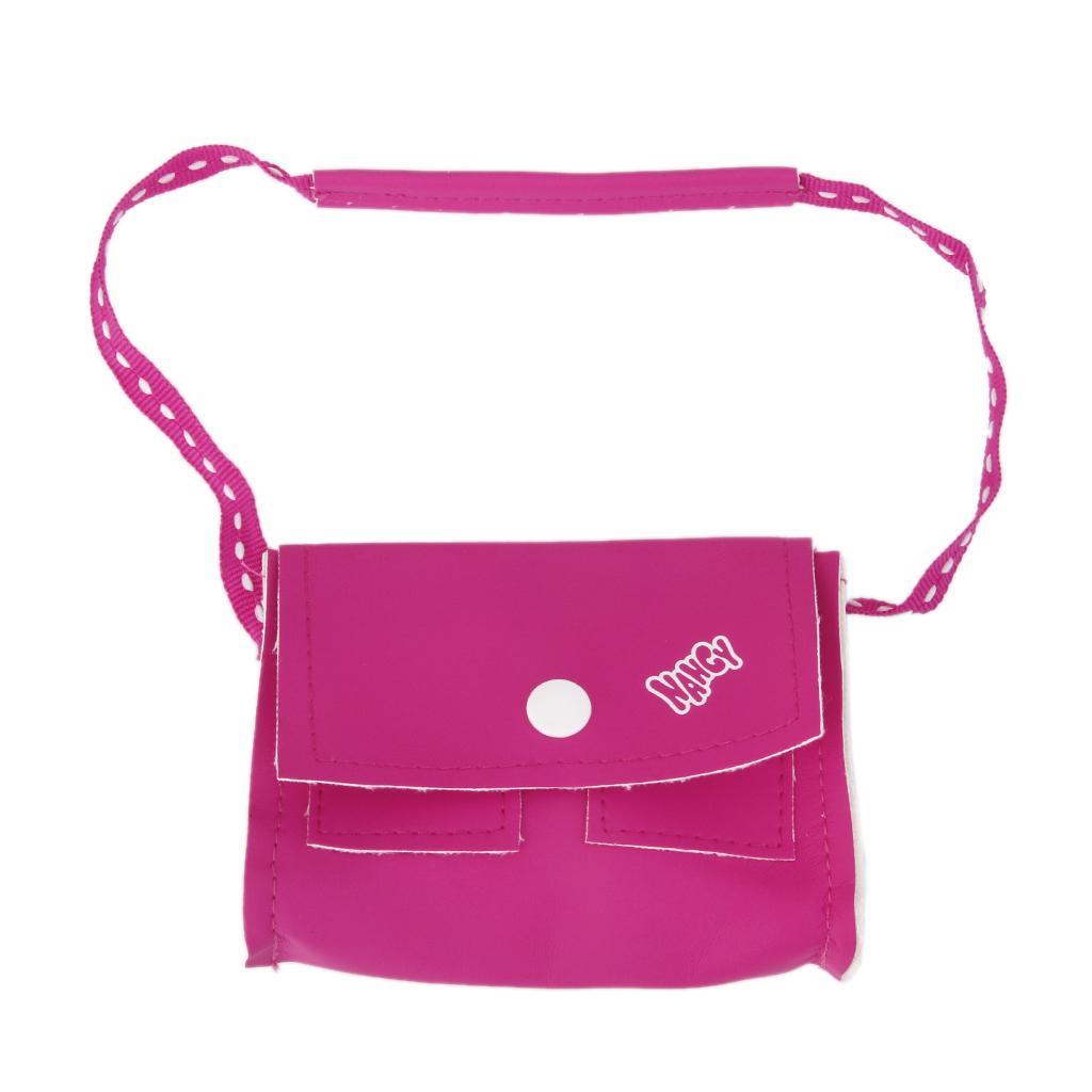 Pink PU Shoulder Bag for 18inch American Girl