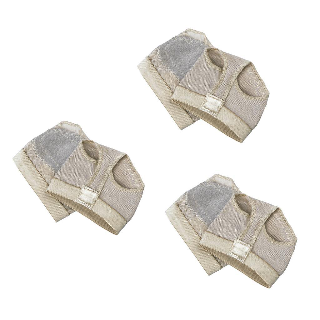 3 Pairs Footful 1 Pair of Ballet Dance Foot Thong Metatarsal Pads...