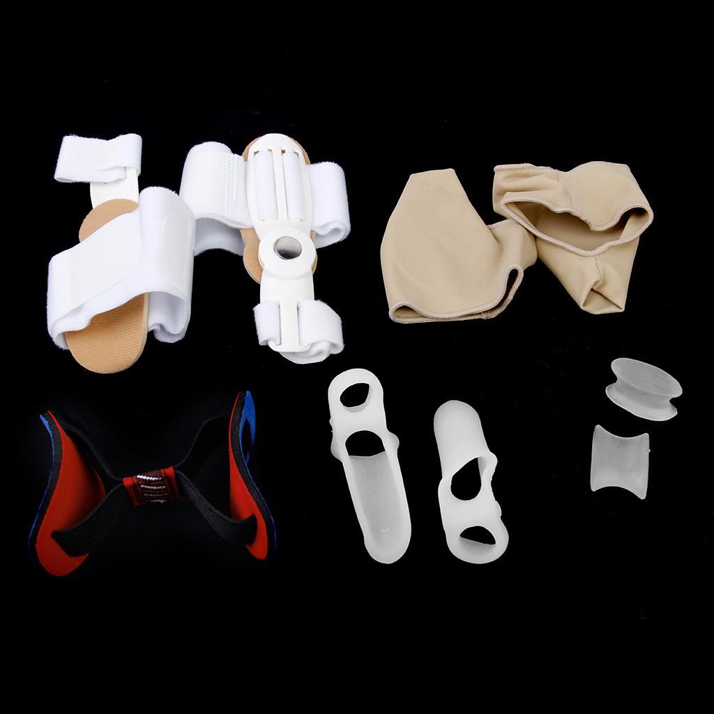 Footful Toe Bunion Pads/Protectors/Valgus Corrector/ Separators/ Straightener