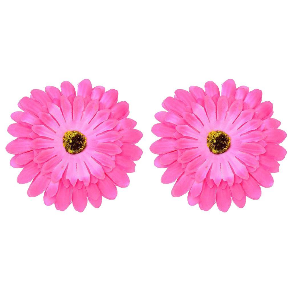 Sun Flower Hair Rope Floral Hair Claws Brooch Barrettes Hair Ornaments
