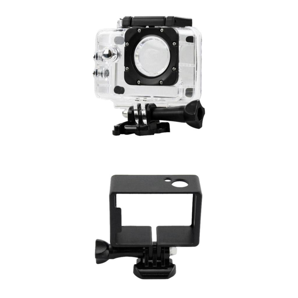 Waterproof Camera Case Box +Protective Frame Case for SJ4000/Wifi Camera