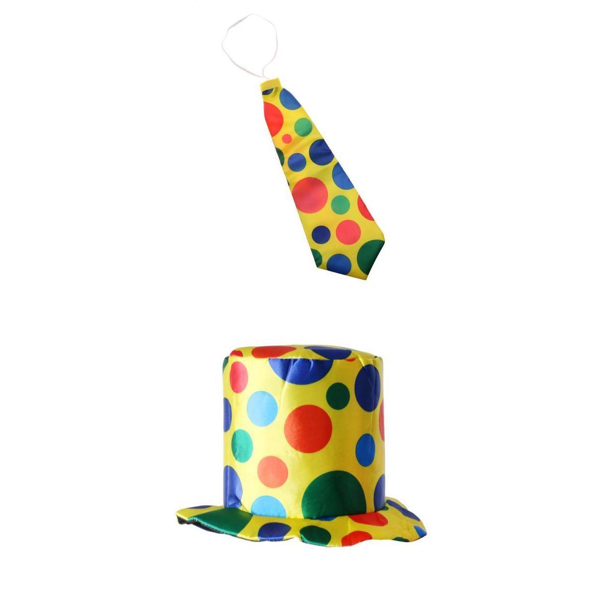 Kids Adults Clown Costume