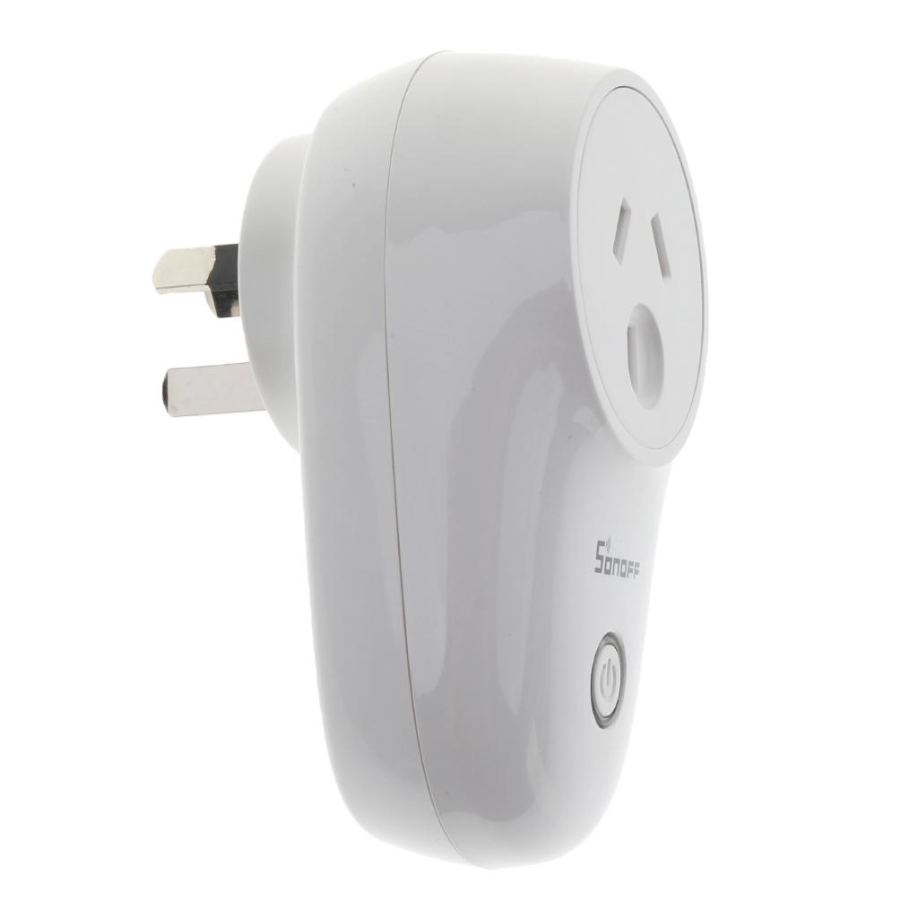 Smart Digital WiFi Remote Control Timer Socket AU Plug