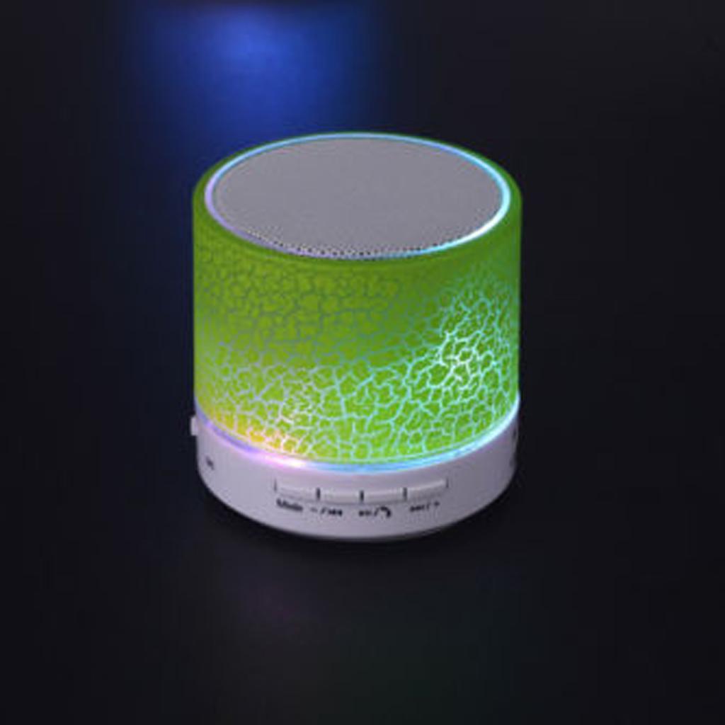Portable Bluetooth Wireless Bass Speaker Handsfree Green