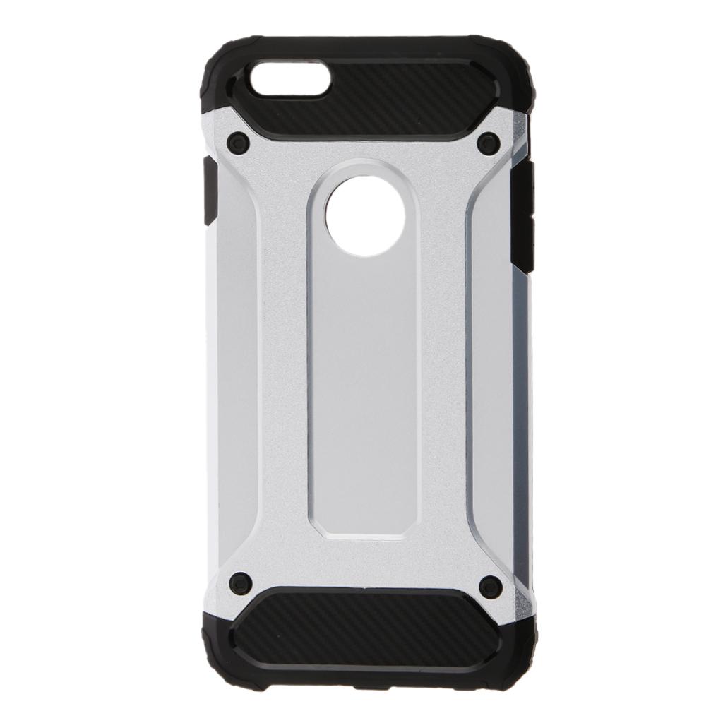 Silver Armor Phone Case For iPhone 6 plus / 6s plus