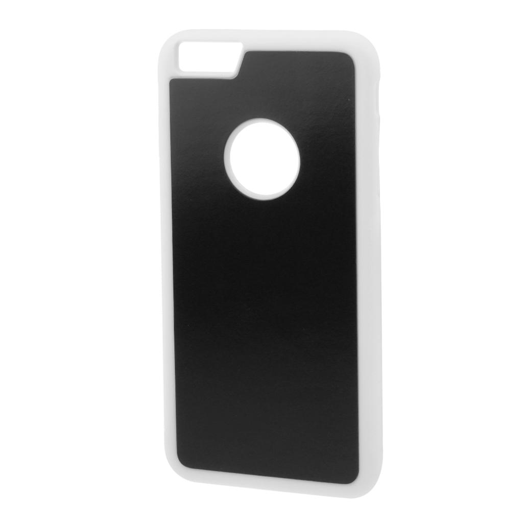 Anti-Gravity Phone Case Nano Tech Sticky Cover For iPhone 6plus/6splus White