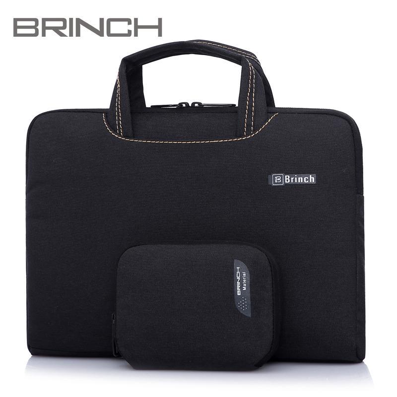 Laptop Sleeve Case Handbag For 14inch Macbook Air /Lenovo /Asus -Black