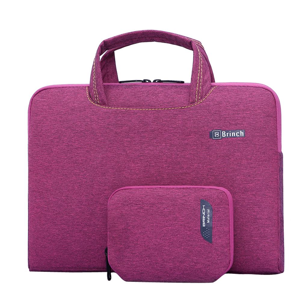 Laptop Sleeve Case Bag Handbag For 15inch MacBook Pro Retina -Purple