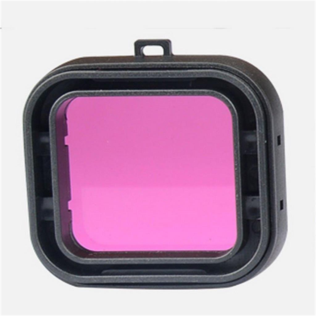 Underwater Diving Lens UV Filter Converter for GoPro Hero 4/3+ -Purple