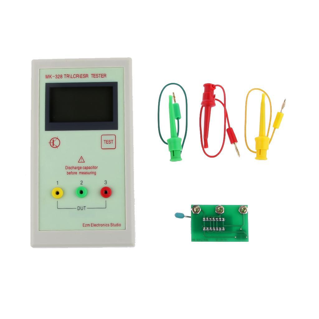 MK-328 TR LCR ESR Tester Digital Multimeter Capacitance Resistance