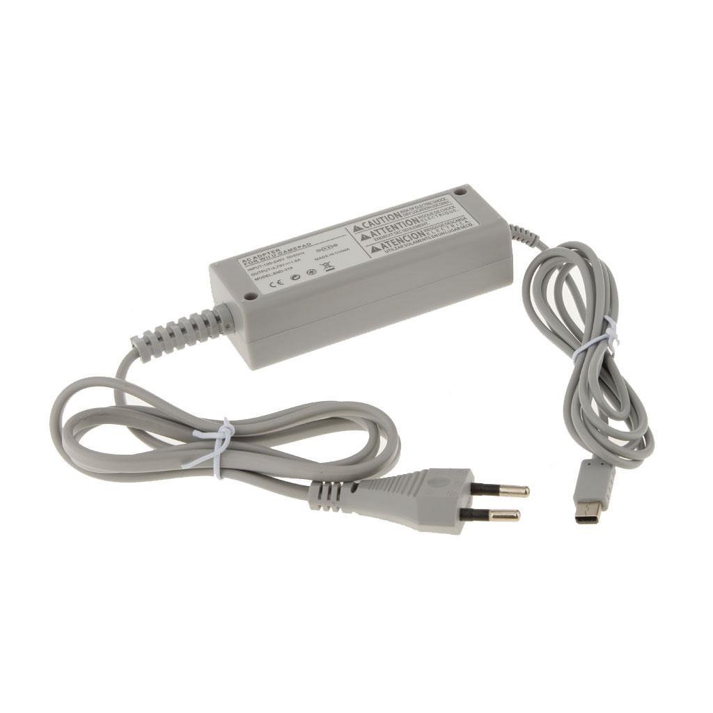 AC Home Wall Power Supply Adapter Charger for Nintendo Wii U Gamepad EU Plug