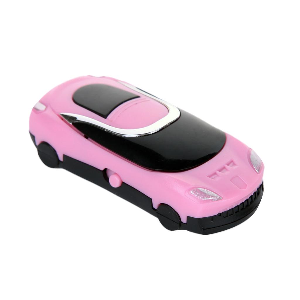 Sport Running Stylish MINI Car MP3 Player Portable 32GB Micro Card SD Pink