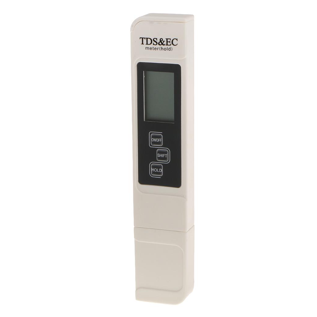 Digital Meter TDS EC Water Purity PPM Filter Hydroponic Pool Tester Pen
