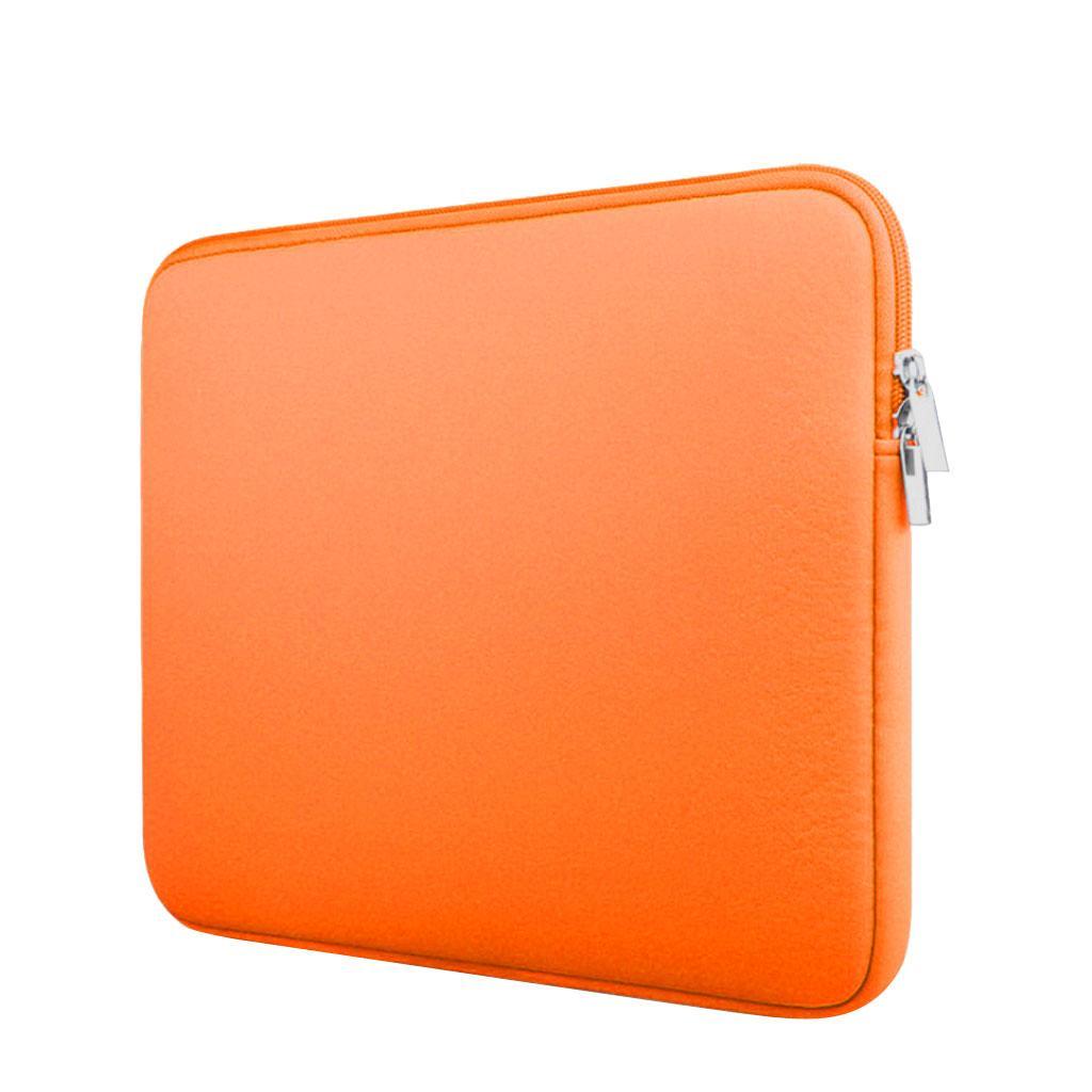 "Laptop Sleeve Case Bag Pouch for 15"" Macbook Mac Air/Pro/Retina -Orange"