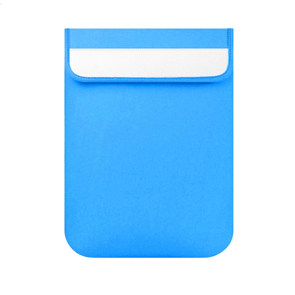 Vertical PC Sleeve Bag for Apple Macbook Lenovo Notebook Sky Blue 11 Inch