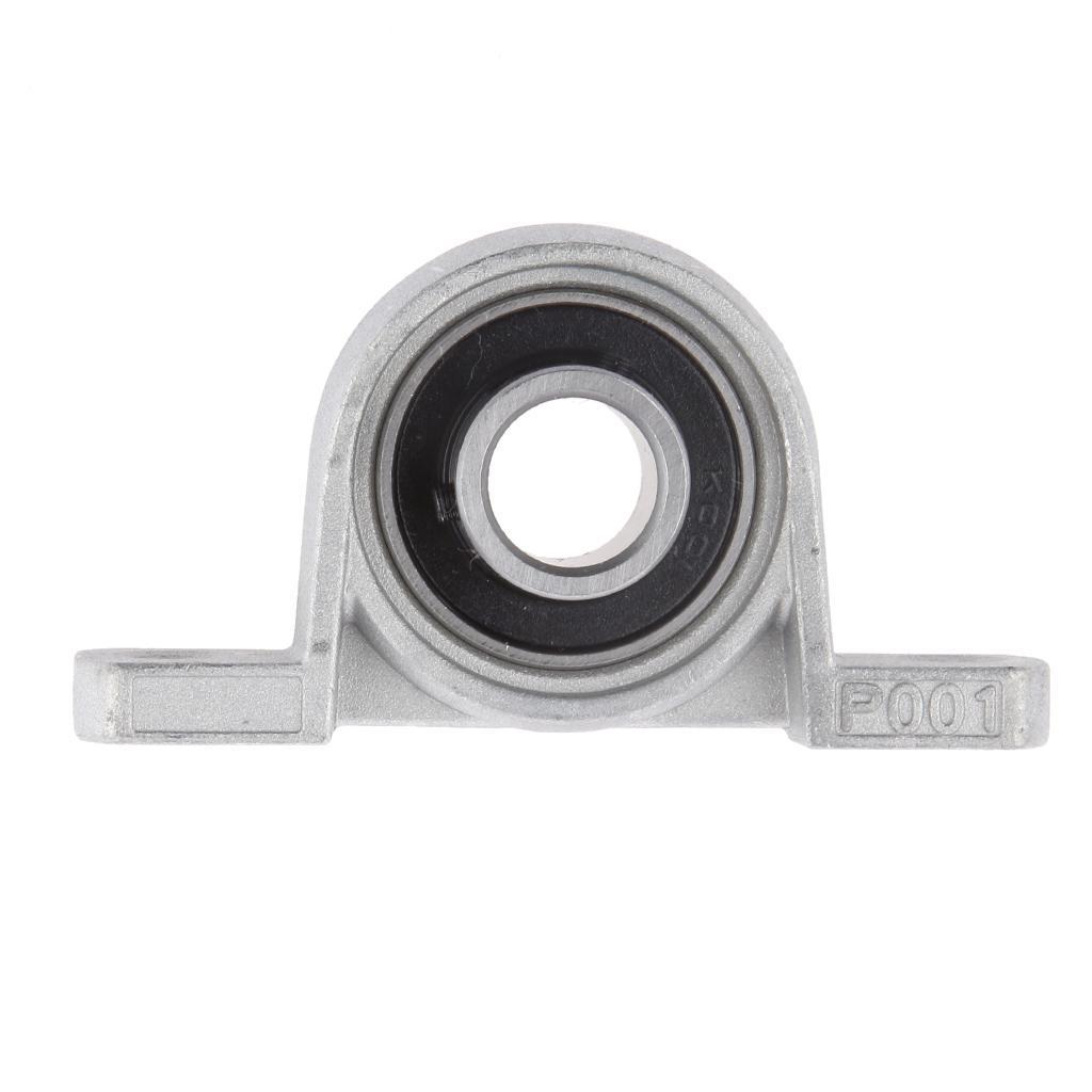 1pc Diameter 12mm Bore KP001 Ball Bearing Pillow Block Mounted Support Kit