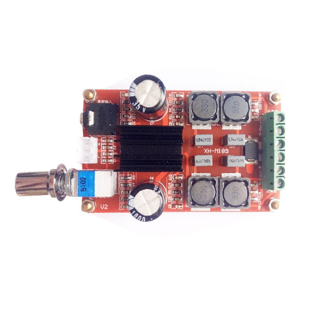 TPA3116 12V-24V D2 Dual Channel Digital Audio Amplifier Board for Arduino