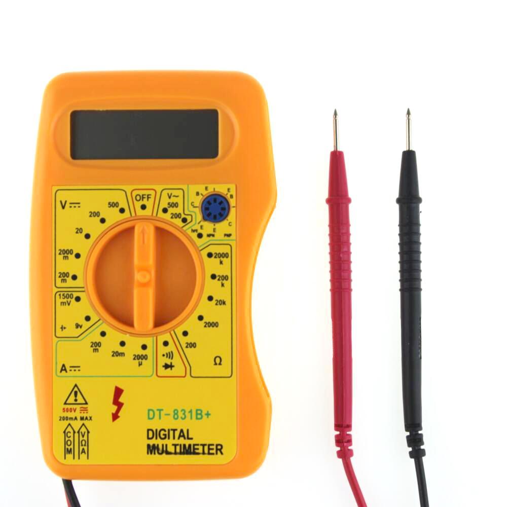 Digital Multimeter DMM Voltmeter Ammeter Ohmmeter Current Resistance Tester