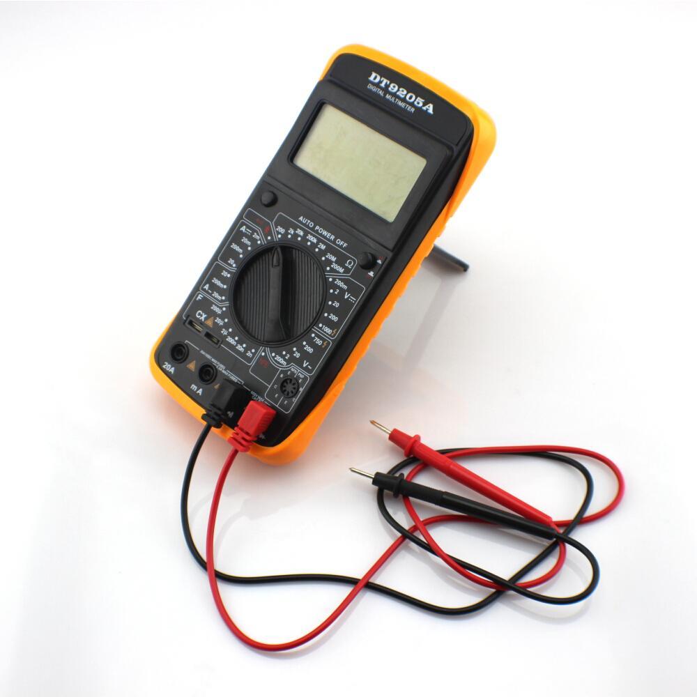 Digital Multimeter LCD Display Electric Handheld AC DC Current Tester Tools