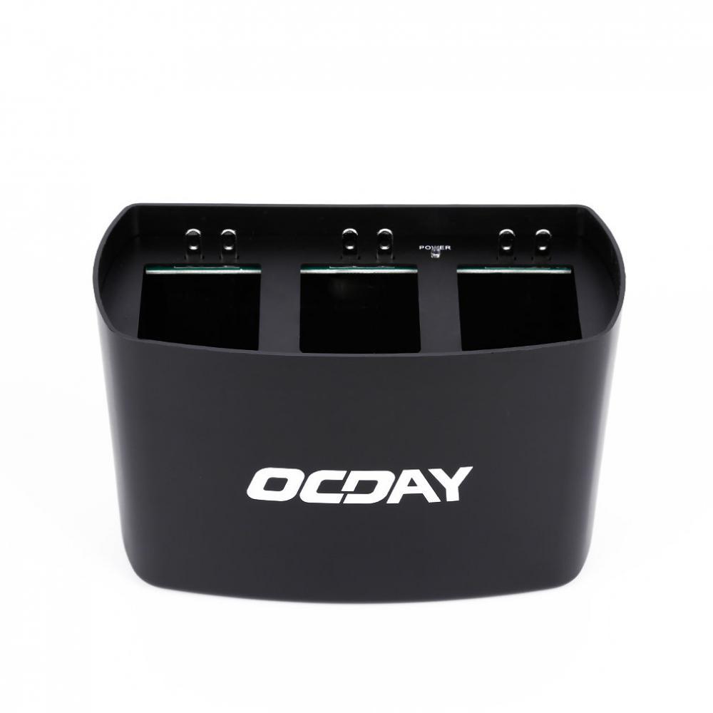 Black OCDAY 3 in 1 3 Port Battery Dock Battery Charger for DJI Phantom 2 3