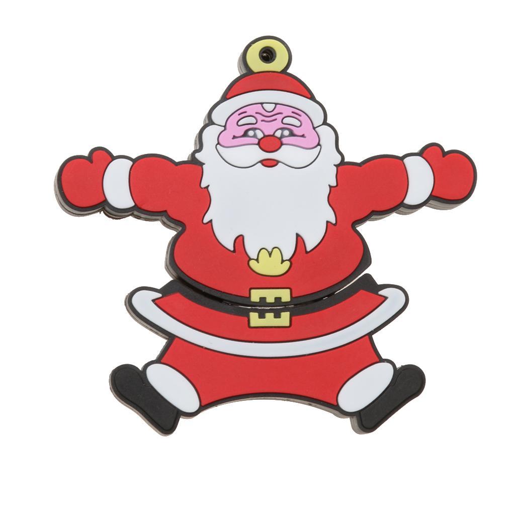 Christmas Santa Claus USB 2.0 Memory Stick Flash Pen Drive U Disk 16G