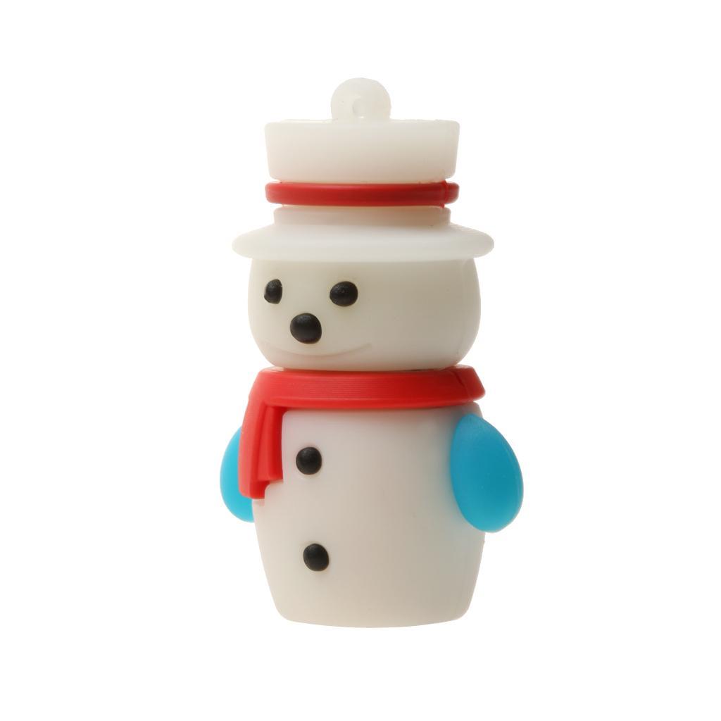 Christmas Snowman USB 2.0 Flash Drive Pendrive Memory Stick U Disk 4G