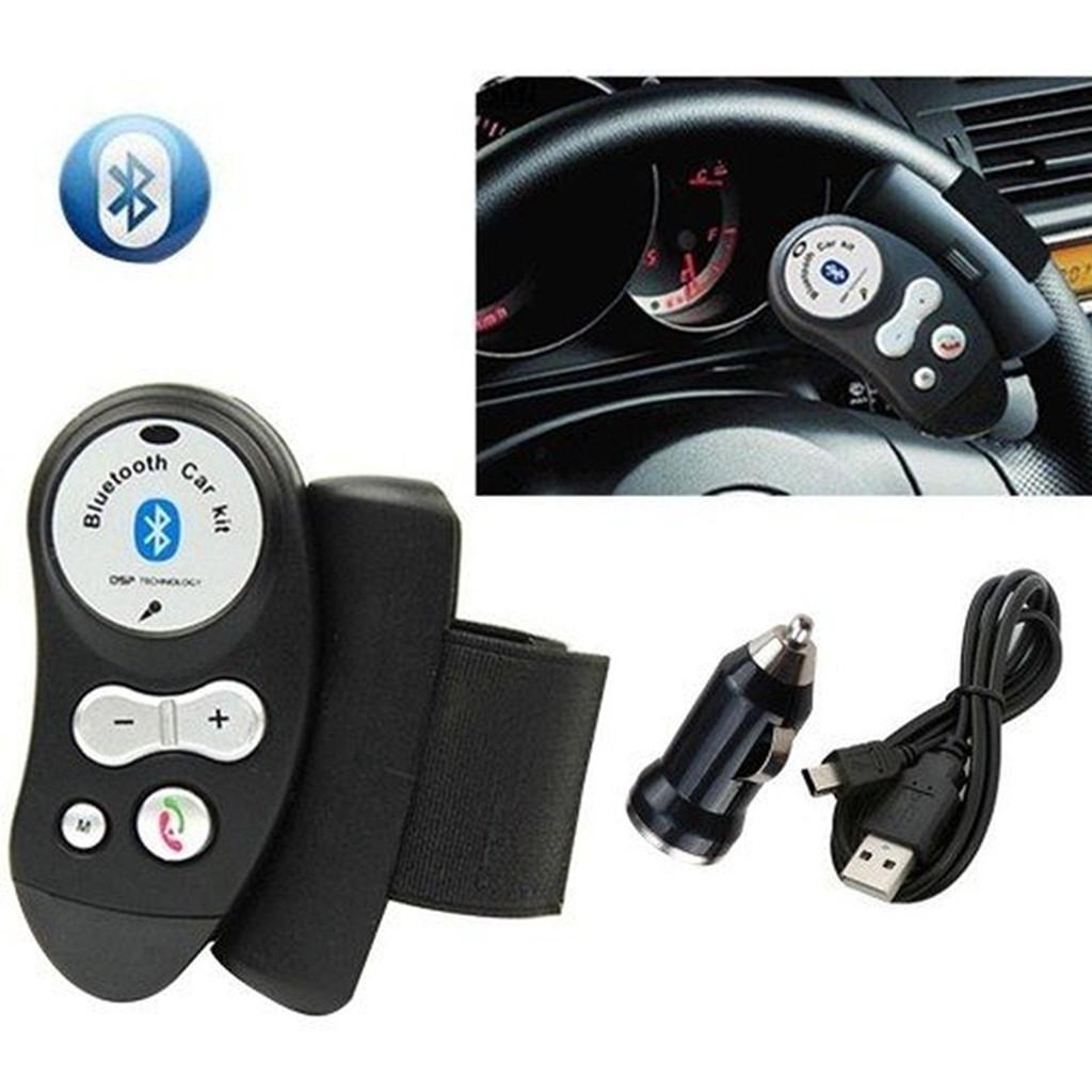 Bluetooth 4.0 + EDR Handsfree Steering Wheel Car Kit Speakerphone Device