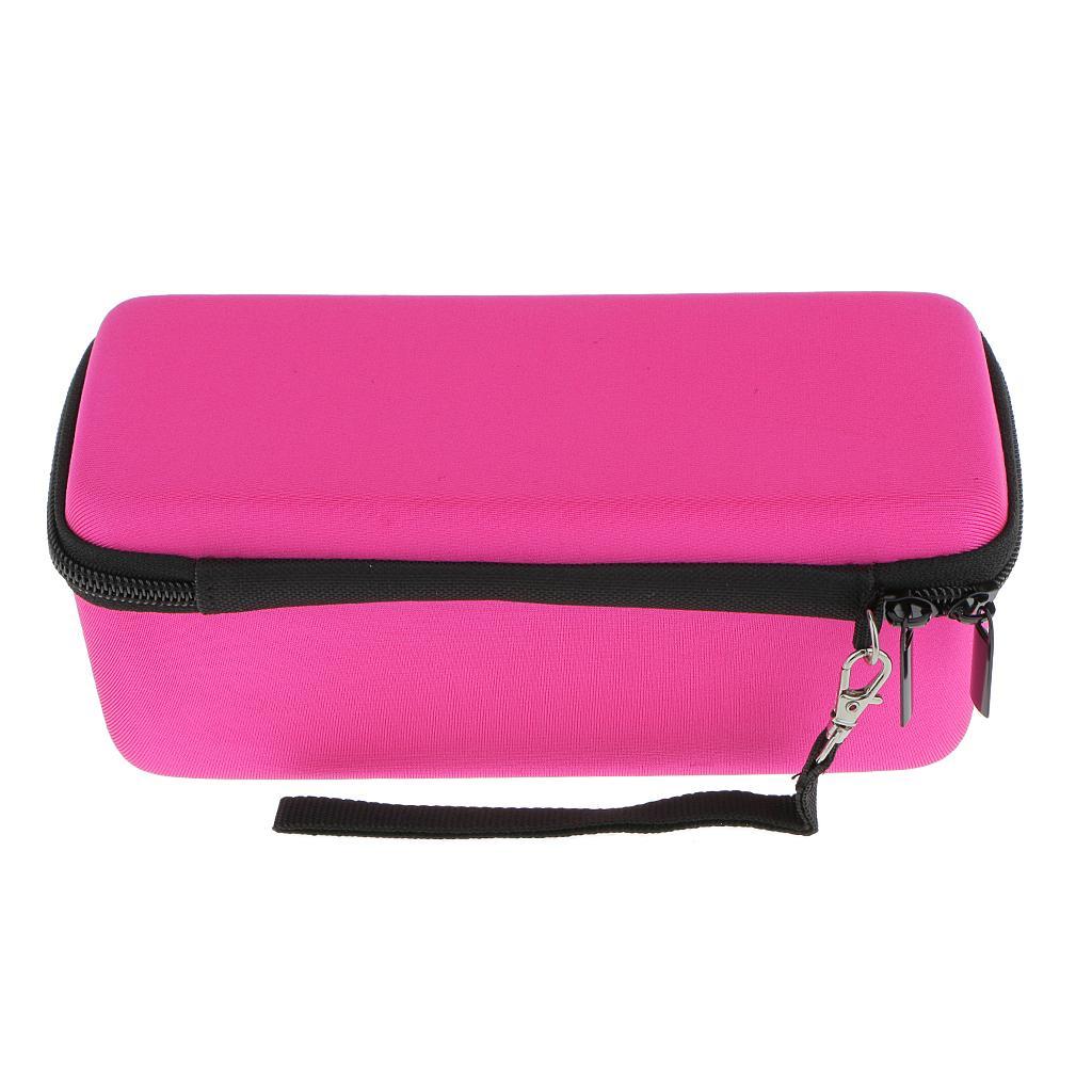 Carry Case Bag + Soft Cover Skin For Bose-Soundlink Mini BT Speaker Rose Red