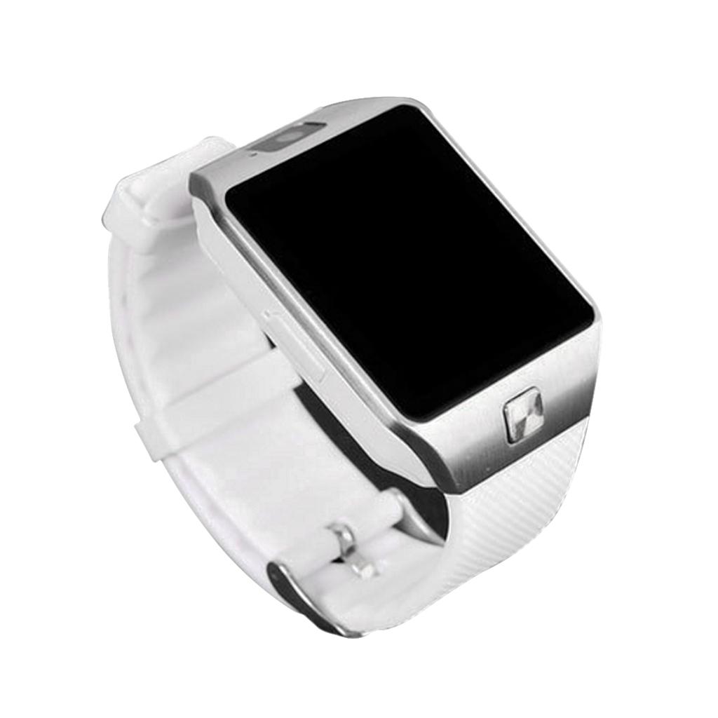 Fashion Sports Smart Watch Wristband GSM Bluetooth Tracker Silver