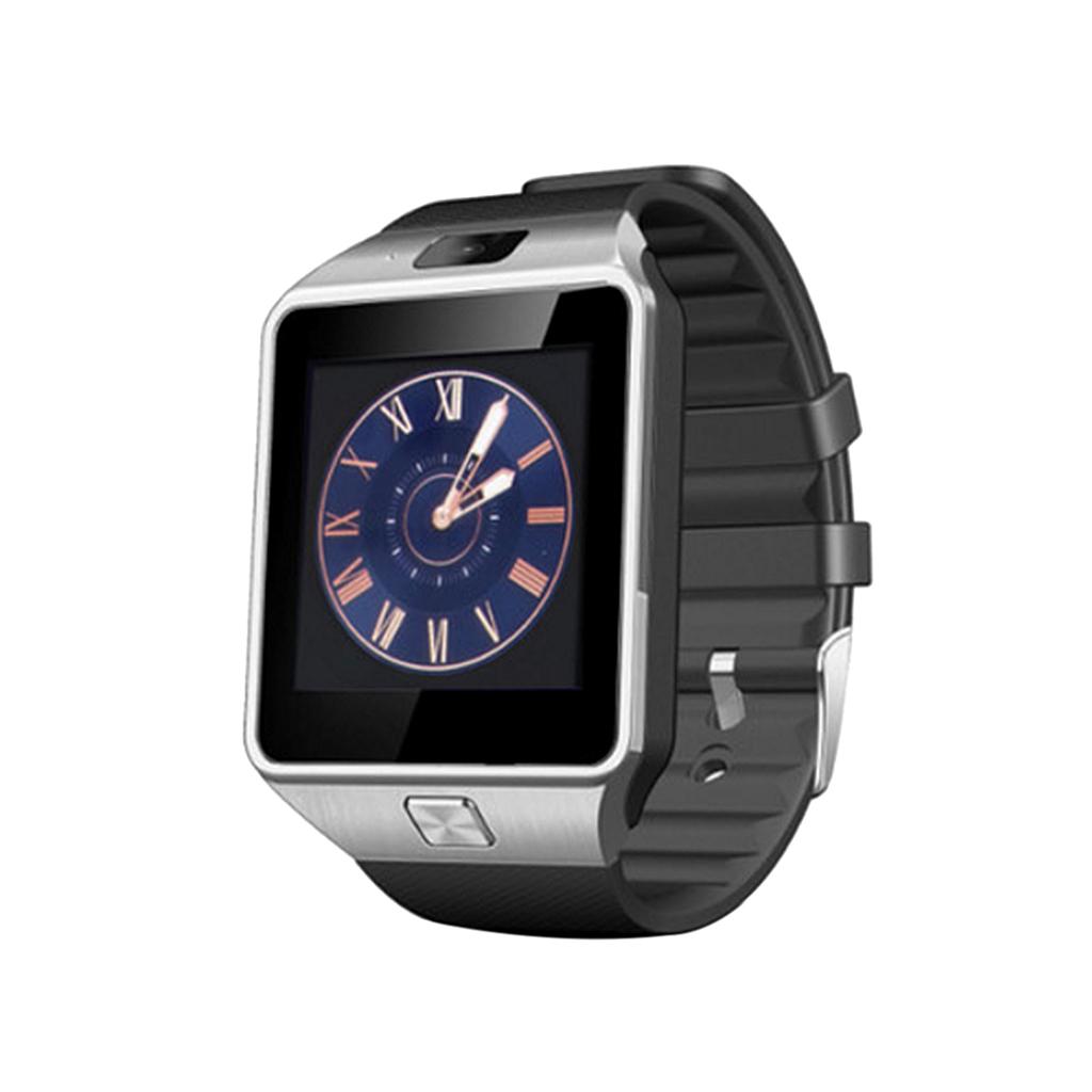 Fashion Sports Smart Watch Wristband GSM Card Bluetooth Tracker Black