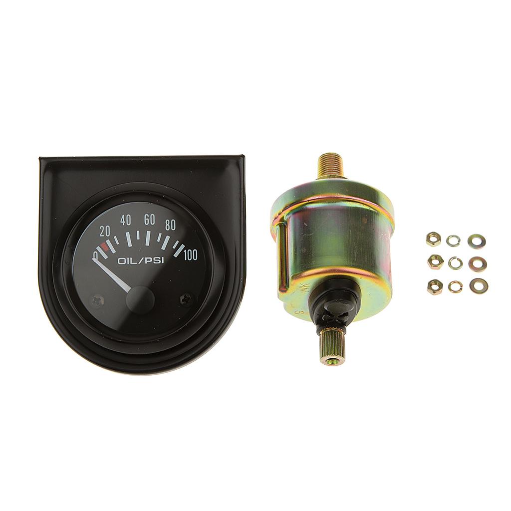 Fuel Pressure Digital Oil Pressure Gauge High Sensitivity 0~100PSI Range