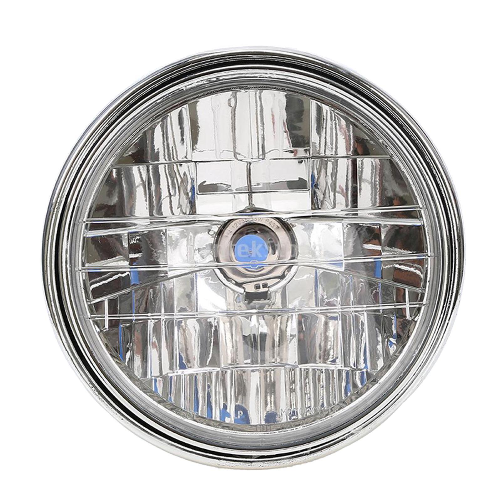 Motorcycle Chrome Halogen Front Headlight Lamp For Honda CB400 CB500 CB1300