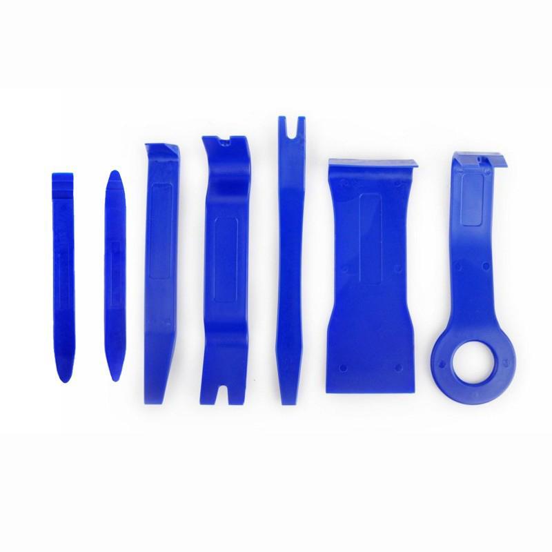7PCS Car Door Plastic Trim Panel Dash Clip Installation Removal Pry Tool Kit