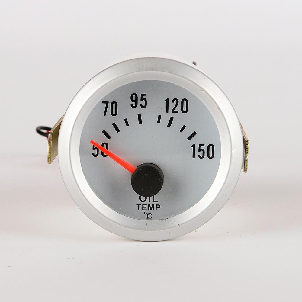 Blue Led Meter : Mm electrical oil temp temperature gauge celsius blue