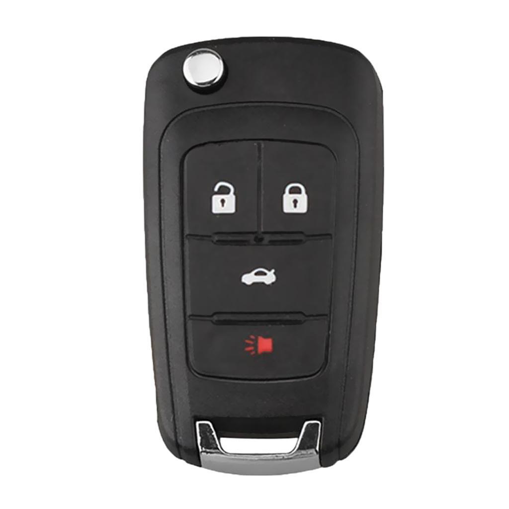 Car 4-Button Remote Key Fob 433MHz ID46 Chip For Chevrolet Malibu Cruze Aveo