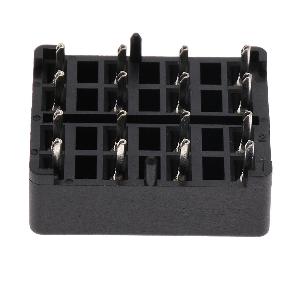 Automotive Car Boat 8 Way Mni Blade Fuse Box Block Pcb Panel With Connectors Terminals