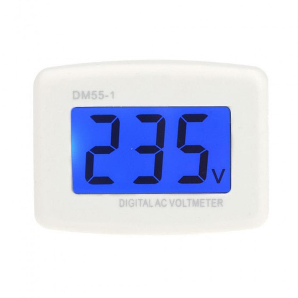 AC 80-300V LCD Digital Volt Meter Voltmeter EU Plug Electric Pen Meters