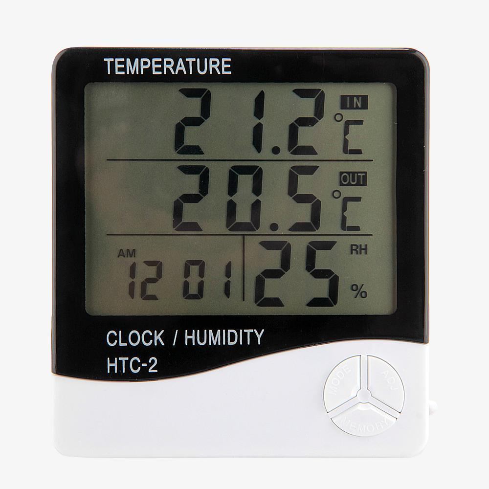 Aquarium Reptile Pet Thermometer Hygrometer  Meter Digital LCD Tester Gauge