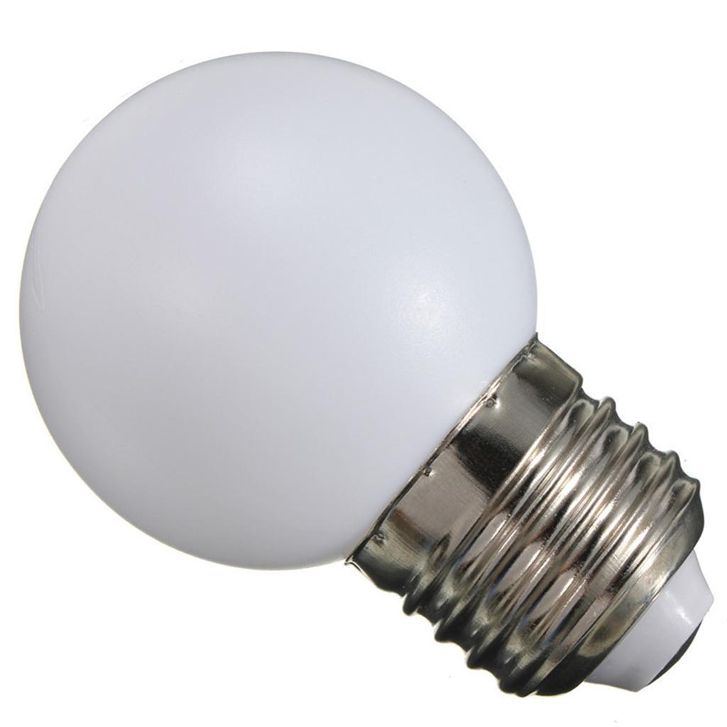 10x 220v E27 Screw 2w Energy Saving Led Golf Ball Light