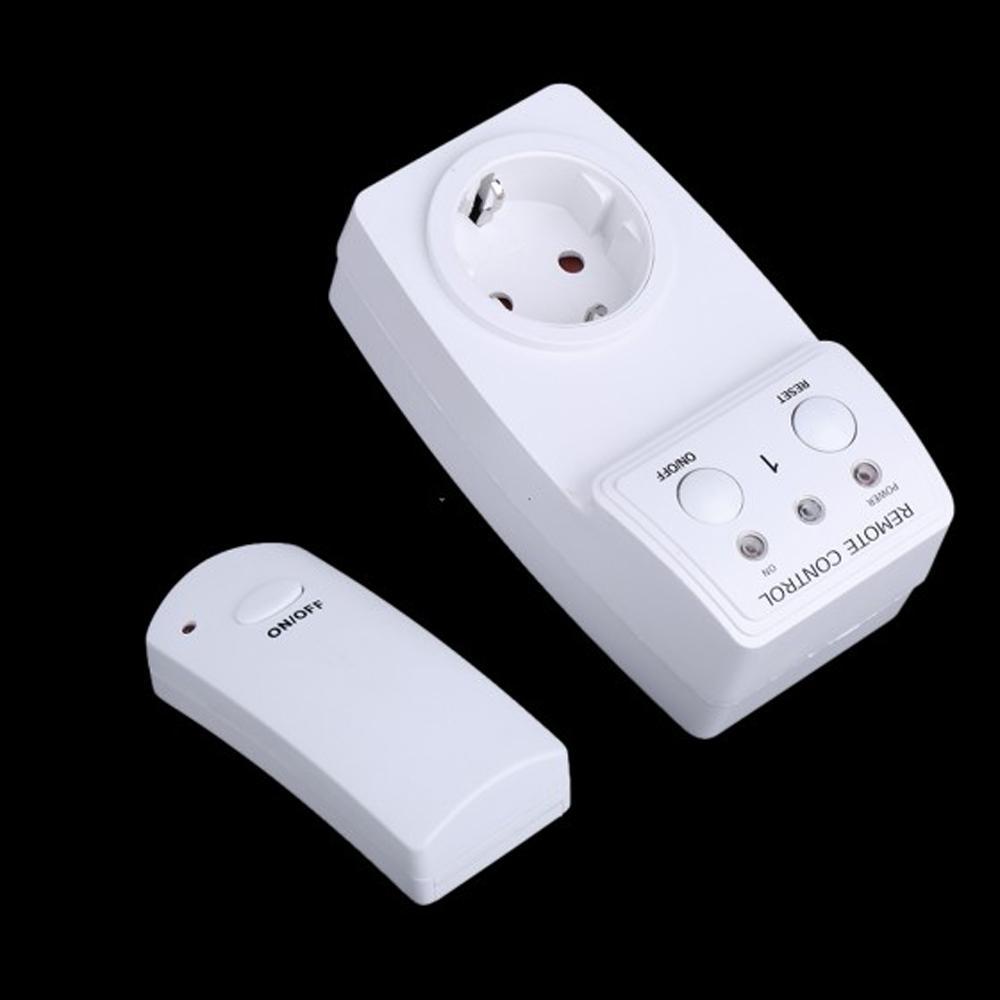 230V 60Hz Wireless Remote Control Power Outlet Plug Socket Switch EU Plug