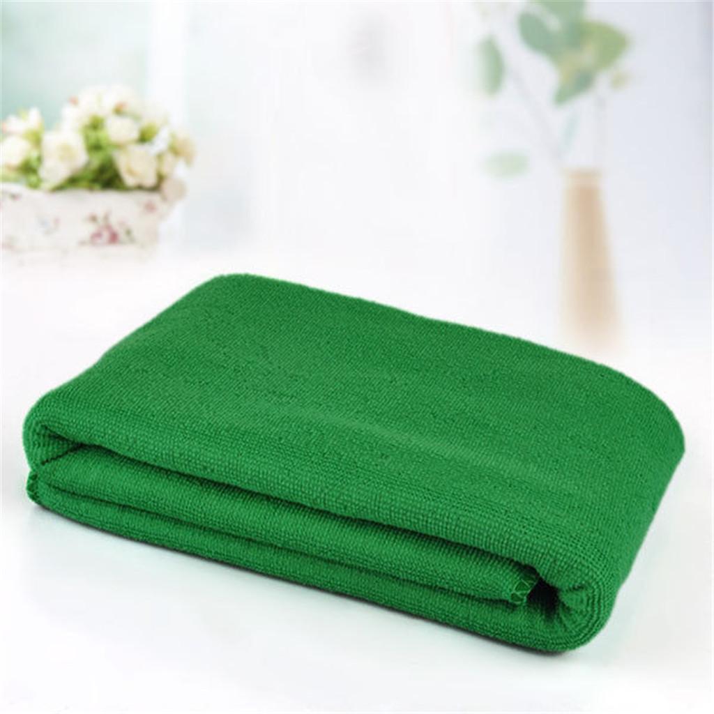 Microfiber Towel Sports Gym Bath Quick Dry Travel Swim Beach Drying Green