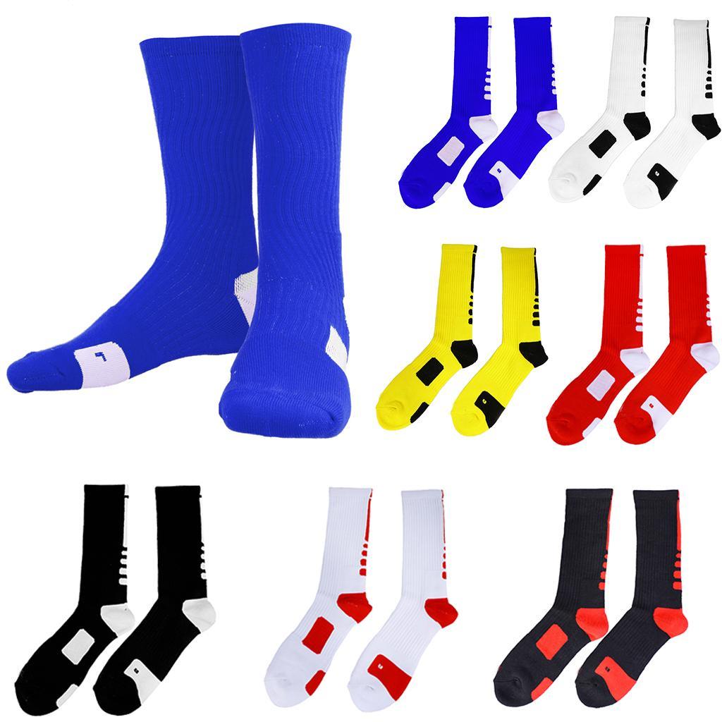 Basketball Sweat Towels: Men Quick-drying Towel Sweat Socks Tube Outdoor Athletic