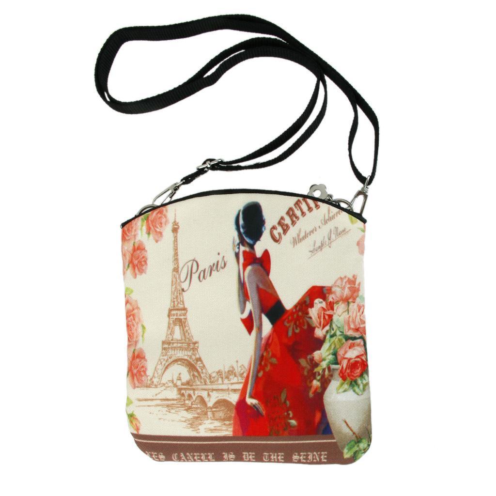 Women Canvas Shoulder Bag Messenger Crossbody Satchel Handbag #4
