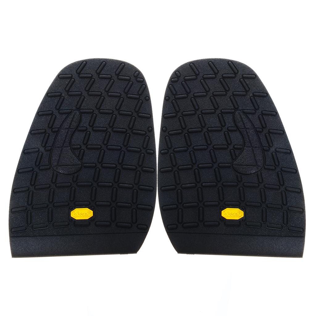 Footful Rubber Half Soles Anti Slip Shoe Repair Black