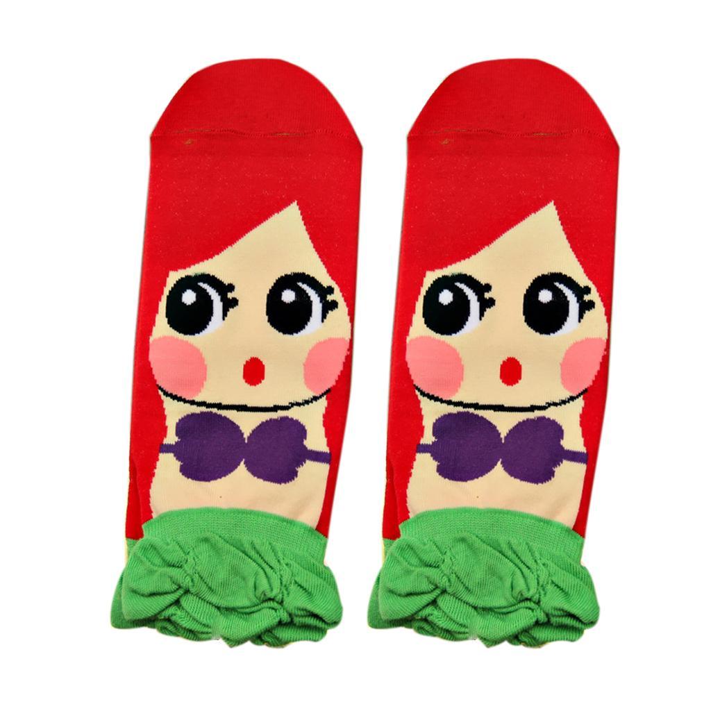 Women's Fashion Soft 3D Princess Series Korean Cotton Socks