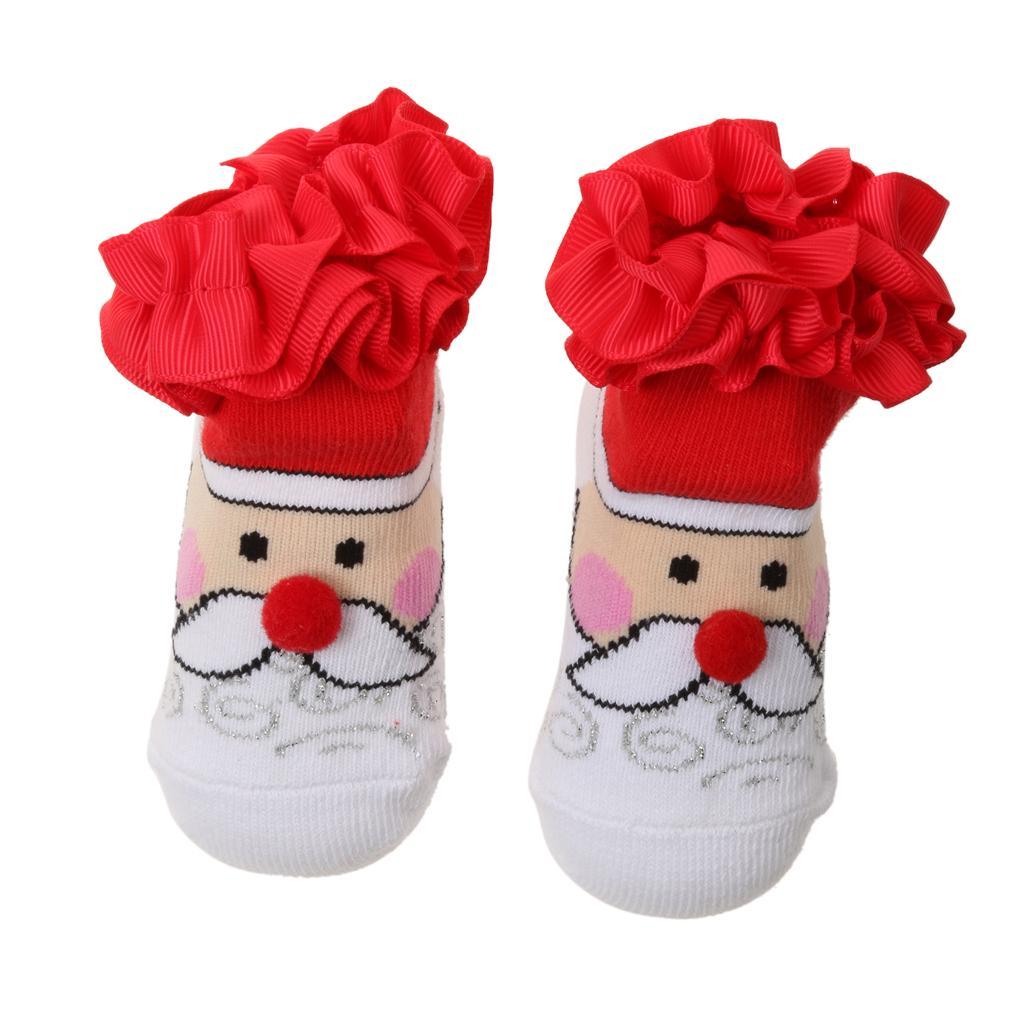 Unisex Pairs Kids Toddler Socks Warm Cotton Socks For Boys Girl  S Style 1