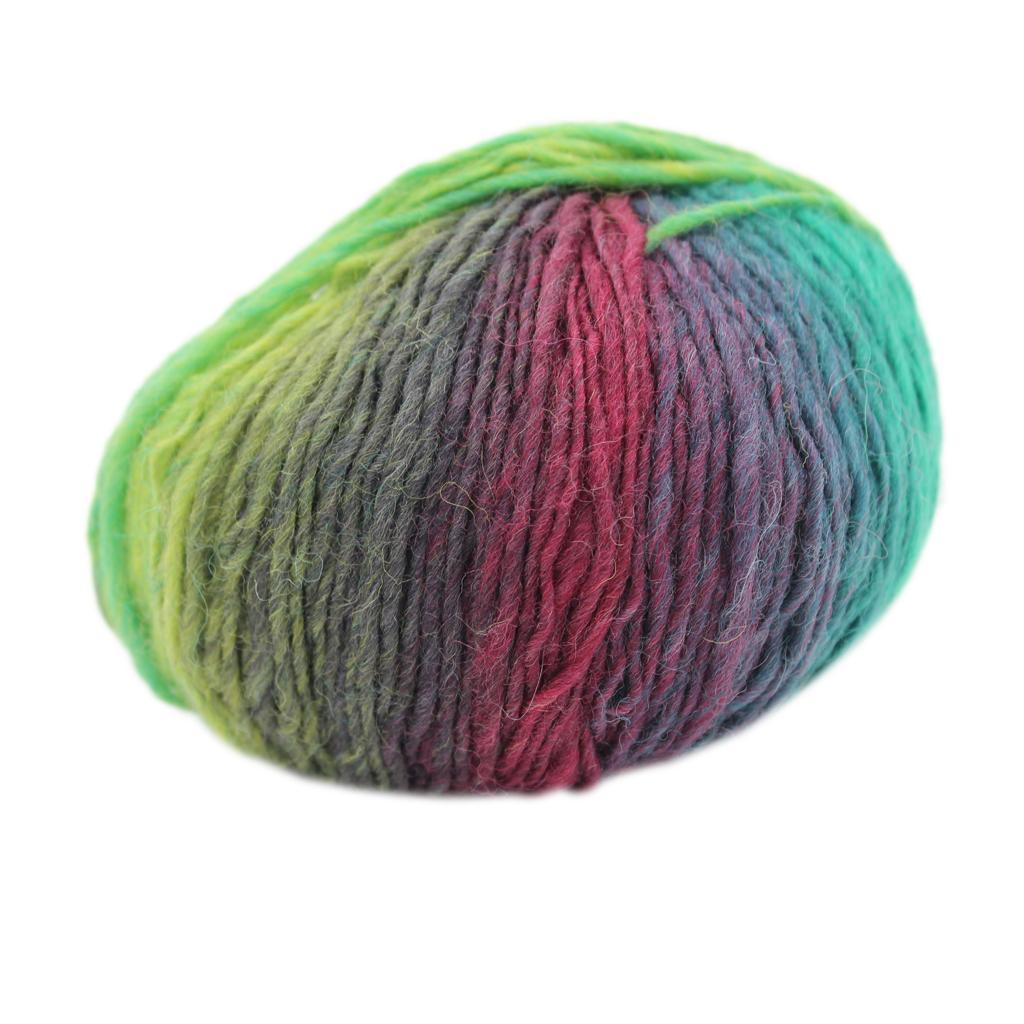 Wool Knitting Thread Fingering Crochet Yarn Dyed #13